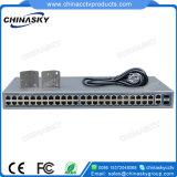 48 ports 100Mbit/s avec 2 commutateur Poe Gigabit combo (SFP4822POE-2Combo)