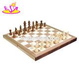Placa de jogos educativos personalizados Jogos tradicionais de madeira para crianças W11A085