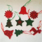 Haut de la qualité de l'arbre de Noël Décoration feutre pendaison