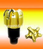 PDC sinterizado de carburo de tungsteno poco cuerpo de acero, el PDC poco