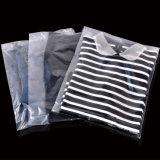 Sacchetto di plastica trasparente impaccante del sacchetto della maglietta libera su ordinazione della fabbrica