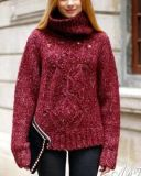 Manteau chandail, manteau chandail pour femmes, manteau sweat-shirt, manteau tricot, veste tricotée. Usure du pull-over. Tricot. Chandail