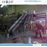máquina de reciclagem de pneus novos resíduos recebendo óleo de pirólise