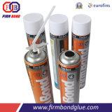 Matériau de construction Chemial Mousse de PU joint silicone adhérent