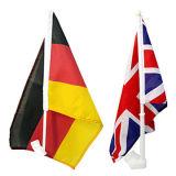 Germmany Car Flag en United Kingdom Car Flag