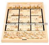 Hölzernes Spielwaren Sudoku Brettspiel (J1003)