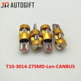 Super White CC12V T10 W5W 27SMD 3014 Car Auto lámpara Canbus