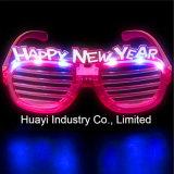 Glückliche neue Jahr-LED gekerbte Sonnenbrillen
