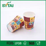 混合されたカラー飲み物のためのニースFlexoの印刷紙のコップ