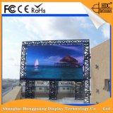 Farbenreicher P4.81 im Freien LED Bildschirm des heißen Verkaufs-
