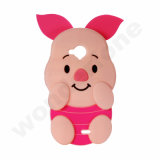 Pig Shape Silicone Protector para iPhone 7 Plus 5.5 ''
