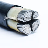 Tiefbau-XLPE kupferner Aluminiumleiter-gepanzertes Energien-Isolierkabel