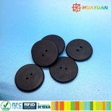 Dia16mm 소형 ISO15693 빨 수 있는 ICODE SLI RFID 세탁물 꼬리표