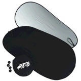 Máscaras impressas de Sun do carro da parte dianteira da bolha de ar costume Foldable