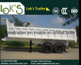 Почва 18 Axles Cbm 2 содержа трейлер Tipper Semi