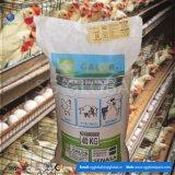 China druckte gesponnenen Polypropylen-Hühnerfutter-Beutel