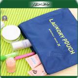 Fecho de couro em PVC transparente barata mão saco cosméticos