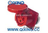 コマンド32A 4p赤い400V IP67は取付けられたソケットをフラッシュする