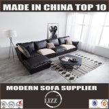 普及した現代L形の革ソファー(Lz710)