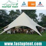 Лучше всего белую звезду тени Палатка для события диаметром 12m 60 человек местный гость