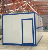 Montaje rápido de EPS/PU/panel sándwich de lana de roca Casa contenedor plegable prefabricados