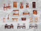 Mini Meubilair van de Dynastieën Ming en Qing