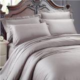 Graues Hotel-Bettwäsche-Set der Farben-100%Cotton 300tc
