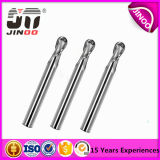 Jinoo HRC45 Dameterの金属のための固体炭化物の端製造所の切削工具