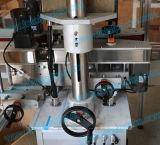 Máquina de encapsulamento de quatro rodas lineares para garrafas e frascos com tampa de rosca de parafuso (CP-300A)