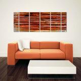 Ursprünglicher Farbanstrich-handgemachte moderne zeitgenössische Metallwand-Kunst