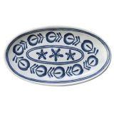 "Het "" ovale Vaatwerk van de Plaat melamine Moderne Blauwe Plate/14/van de Melamine (DCY3514)"