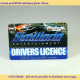 モータークラブカードはPVCにフルカラープリントをした