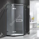 G79z21L comerciano la doccia all'ingrosso personalizzata della stanza da bagno dell'hotel di vetro Tempered di prezzi competitivi