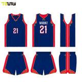 Maglia Da Basket Eco-Friendly Per Sublimazione Del Colore Thunder Sportswear