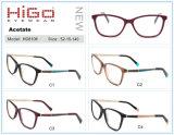 De klassieke Fabrikant van de Glazen van de Voorraad van het Frame van Eyewear van de Acetaat Optische in China