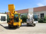 De nieuwe van de Diesel van de Verkoop van de Apparatuur van de Bouw van het Ontwerp Mini Hete Machine van de Vrachtwagen Draagbare 350L Mobiele Concrete Mixer van het Cement