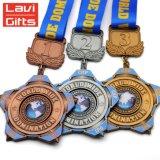Producteur 3D personnalisé antique populaire Emboss Star Type Logo gravé Rare Sport médaille de métal de la concurrence pour la vente de cadeaux