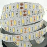 Striscia 12V dell'indicatore luminoso di alta luminosità 60LEDs/M SMD 5730 LED con Ce RoHS