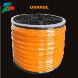 Carrete impermeable Revestimiento de PVC de color naranja neón de la fábrica de luz LED