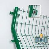 Enduit de PVC Treillis soudés en acier galvanisé Hot-Dipped clôture pour la sécurité et le jardinage