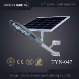 Le capteur de mouvement lampe LED du panneau solaire de jardin extérieur Lampadaire (SX-YTHLD)