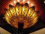 Figura traslucida della lampada del lampadario a bracci dell'alabastro per i materiali della decorazione dell'ingresso dell'hotel