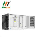 generatore silenzioso 1MW della produzione di energia del contenitore messo in recipienti di Genset 1000kVA 800kw