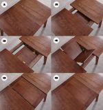 Mesa De Comedor Extensible modernos de madera y Silla Restaurante muebles para el hogar
