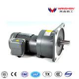 400W Vetical 기중기 기계장치를 위한 1:350 기어 박스를 가진 중간 기어 모터