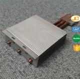 カスタマイズされた突き出されたアルミニウム削るひれ銅脱熱器
