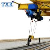 線路のための電気ワイヤーロープ起重機