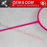 Artículos deportivos profesionales de bádminton raquetas de fibra de carbono fabricante