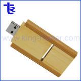 Выгравированный логотип из клена шарнирного соединения USB флэш-памяти Memory Stick™