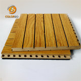 Comitato acustico del legname di legno di controllo del rumore di resistenza al fuoco